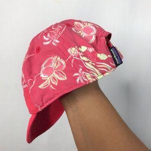 Patagonia Pink Tropical Print Dad Hat for Babies